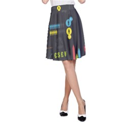 Graphic Table Symbol Vector Chart A-line Skirt by Nexatart