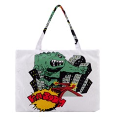 Monster Medium Tote Bag