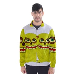 Monster Troll Halloween Shudder Wind Breaker (men)
