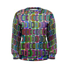 Psychedelic 70 S 1970 S Abstract Women s Sweatshirt by Nexatart