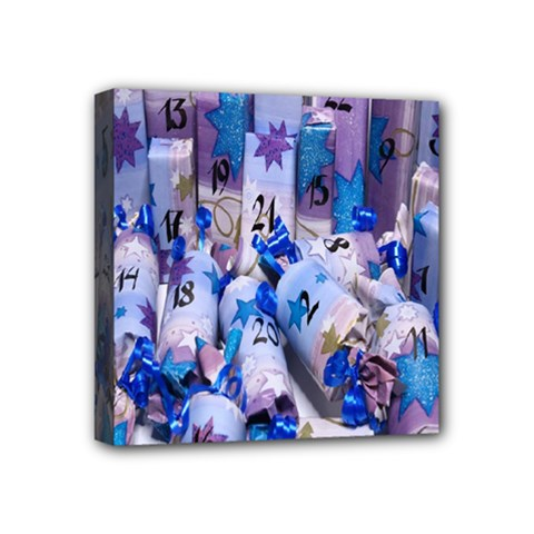 Advent Calendar Gifts Mini Canvas 4  X 4