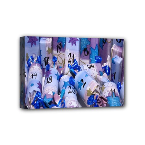 Advent Calendar Gifts Mini Canvas 6  X 4