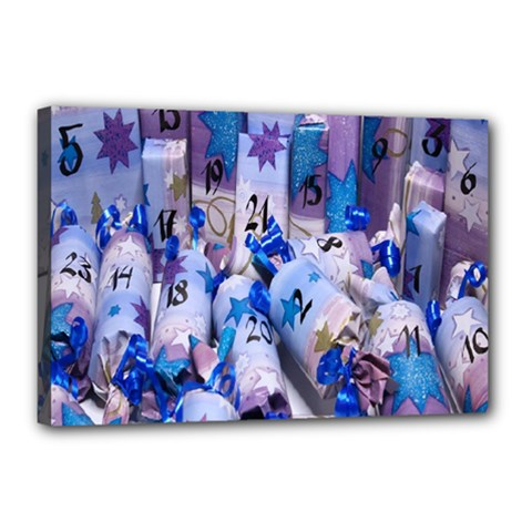 Advent Calendar Gifts Canvas 18  X 12
