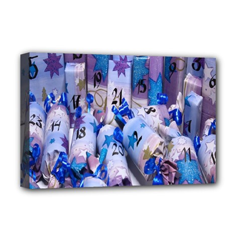 Advent Calendar Gifts Deluxe Canvas 18  X 12