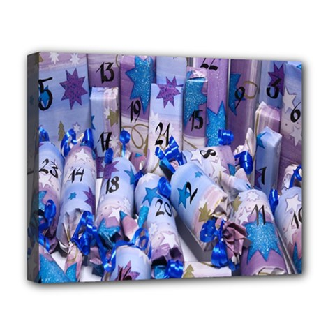 Advent Calendar Gifts Deluxe Canvas 20  X 16