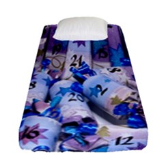Advent Calendar Gifts Fitted Sheet (single Size)