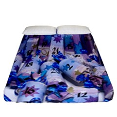 Advent Calendar Gifts Fitted Sheet (california King Size)