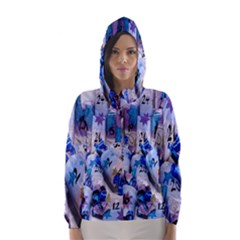 Advent Calendar Gifts Hooded Wind Breaker (women)