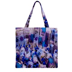 Advent Calendar Gifts Zipper Grocery Tote Bag