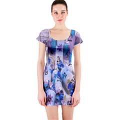 Advent Calendar Gifts Short Sleeve Bodycon Dress