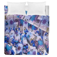 Advent Calendar Gifts Duvet Cover Double Side (queen Size)