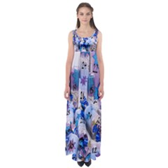 Advent Calendar Gifts Empire Waist Maxi Dress