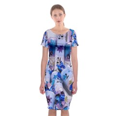Advent Calendar Gifts Classic Short Sleeve Midi Dress