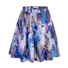 Advent Calendar Gifts High Waist Skirt