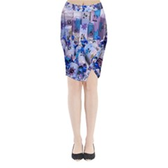 Advent Calendar Gifts Midi Wrap Pencil Skirt