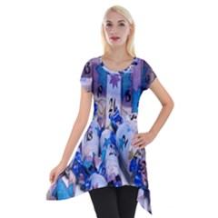 Advent Calendar Gifts Short Sleeve Side Drop Tunic