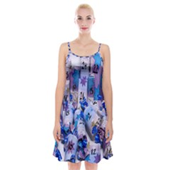 Advent Calendar Gifts Spaghetti Strap Velvet Dress