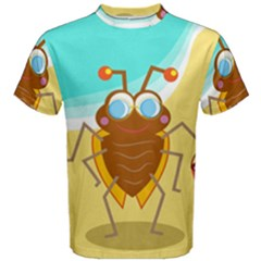 Animal Nature Cartoon Bug Insect Men s Cotton Tee
