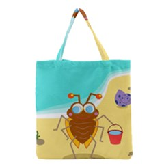 Animal Nature Cartoon Bug Insect Grocery Tote Bag