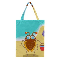 Animal Nature Cartoon Bug Insect Classic Tote Bag