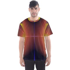Abstract Painting Men s Sport Mesh Tee