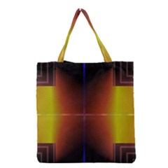 Abstract Painting Grocery Tote Bag