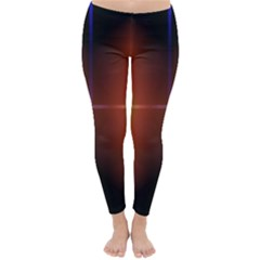 Abstract Painting Classic Winter Leggings
