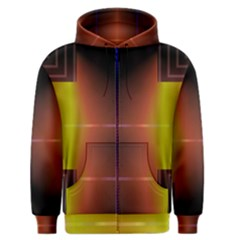 Abstract Painting Men s Zipper Hoodie