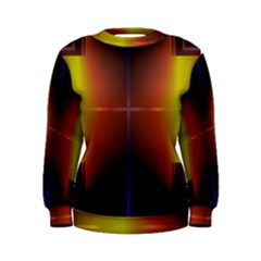 Abstract Painting Women s Sweatshirt