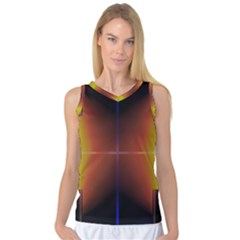 Abstract Painting Women s Basketball Tank Top