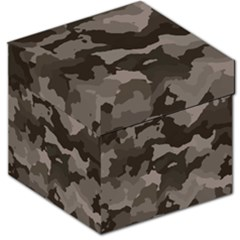 Background For Scrapbooking Or Other Camouflage Patterns Beige And Brown Storage Stool 12