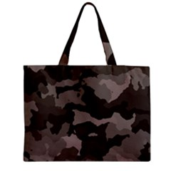 Background For Scrapbooking Or Other Camouflage Patterns Beige And Brown Medium Tote Bag