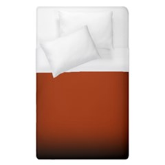 Brown Gradient Frame Duvet Cover (single Size) by Nexatart