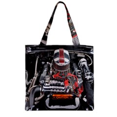 Car Engine Grocery Tote Bag by Nexatart