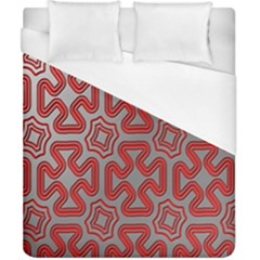 Christmas Wrap Pattern Duvet Cover (california King Size)