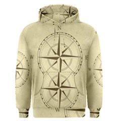 Compass Vintage South West East Men s Pullover Hoodie