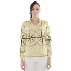 Compass Vintage South West East Wind Breaker (women)