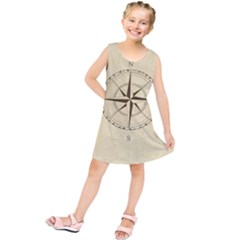 Compass Vintage South West East Kids  Tunic Dress