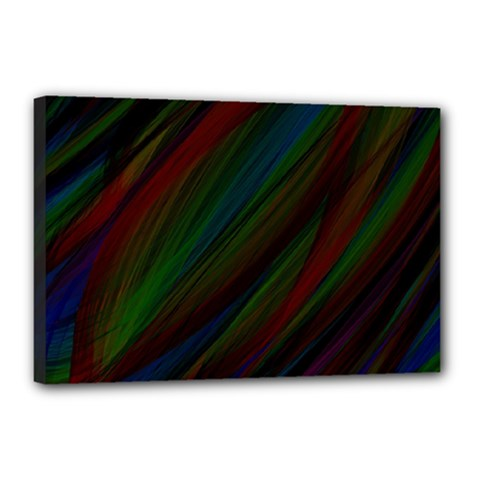 Dark Background Pattern Canvas 18  X 12