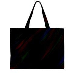 Dark Background Pattern Zipper Mini Tote Bag