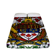Coat Of Arms Of Canada  Fitted Sheet (full/ Double Size) by abbeyz71