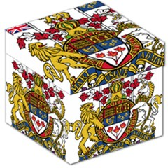 Canada Coat Of Arms  Storage Stool 12   by abbeyz71