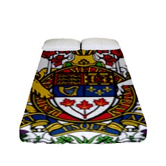 Canada Coat Of Arms  Fitted Sheet (full/ Double Size) by abbeyz71