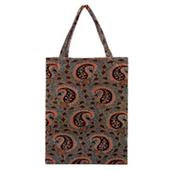 Persian Silk Brocade Classic Tote Bag by Nexatart