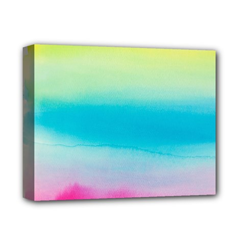 Watercolour Gradient Deluxe Canvas 14  X 11