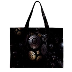 Fractal Sphere Steel 3d Structures Zipper Mini Tote Bag by Nexatart