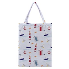 Seaside Beach Summer Wallpaper Classic Tote Bag