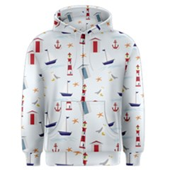 Seaside Beach Summer Wallpaper Men s Zipper Hoodie