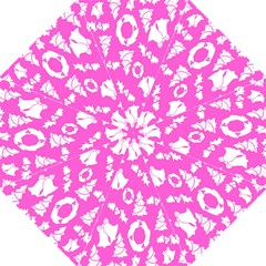 Pink Christmas Background Folding Umbrellas