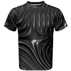 Fractal Mathematics Abstract Men s Cotton Tee